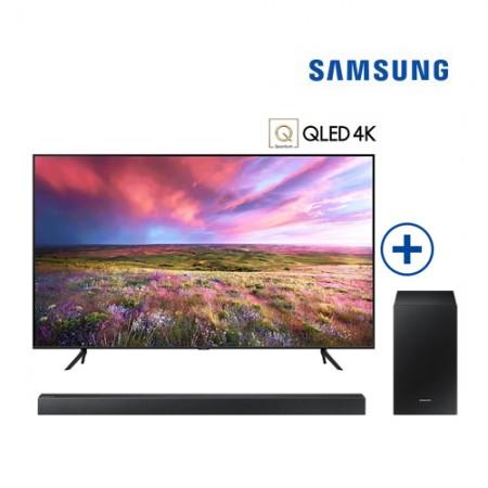QLED 4K TV 163cm (65) + 2.1ch 사운드바